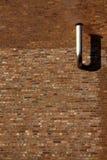 抽烟的墙壁 库存照片
