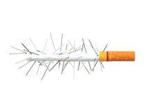 抽烟的杀害。 图库摄影