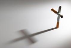 抽烟的杀害 免版税图库摄影