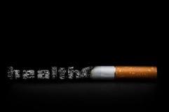 抽烟的杀害 免版税库存图片