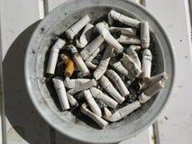 抽烟的终止今天 库存照片