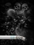 抽烟的终止 库存图片