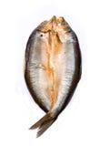 抽烟的腌鱼 库存照片
