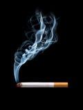 抽烟的香烟 免版税图库摄影