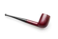 抽烟草空白木的管道 免版税库存图片
