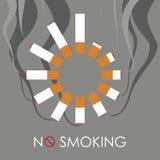 抽烟 向量例证