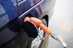 抽的气体 免版税库存图片