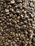 抽签咖啡豆 免版税库存照片