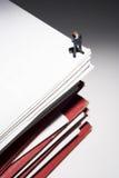 抽签文书工作 免版税库存照片