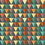 抽象三角几何无缝的背景。 免版税库存图片