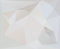 抽象三角几何背景传染媒介 库存例证