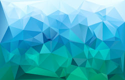 抽象三角几何背景传染媒介 向量例证