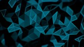抽象三角动画 向量例证