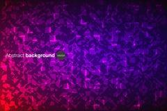 抽象三角紫罗兰色纹理背景 免版税库存照片