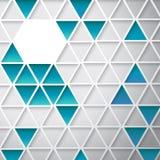 抽象三角背景 免版税库存照片