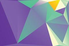 抽象三角背景,现代几何形式 图库摄影