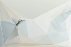 抽象三角背景,现代几何形式 免版税图库摄影