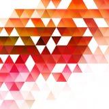 抽象三角背景 向量 免版税图库摄影
