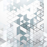 抽象三角背景 库存图片