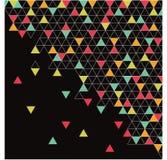 抽象三角,背景 免版税库存图片