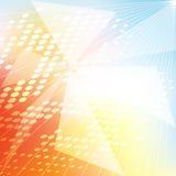 抽象三角 免版税图库摄影