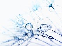 抽象下落宏指令水 库存图片