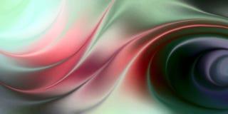 抽象与光线影响,传染媒介例证的传染媒介多彩多姿的被遮蔽的波浪背景 库存例证