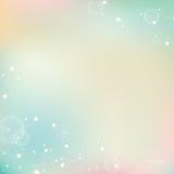 抽象与分子的梯度淡色五颜六色的背景 向量例证