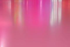抽象与真正的反射光的背景艺术设计生动的桃红色波浪 免版税库存照片