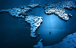 抽象世界 免版税库存图片