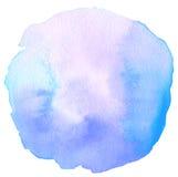 抽象丙烯酸酯和水彩被绘的框架 库存照片