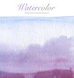 抽象丙烯酸酯和水彩被绘的背景 免版税库存照片