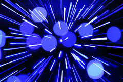 抽象中心圆光芒分散 图库摄影