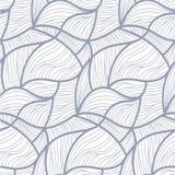 抽象乱画无缝的样式 免版税库存图片