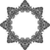 抽象乱画框架 免版税库存图片