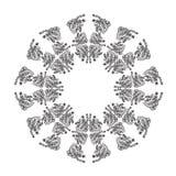 抽象乱画框架 免版税图库摄影