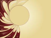 抽象乳脂状的背景 库存图片