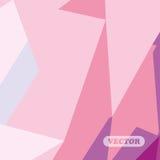 抽象五颜六色的三角 库存图片