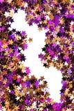 抽象五颜六色的五彩纸屑 库存照片