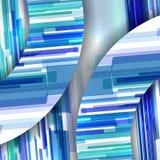 抽象五颜六色的例证 免版税库存照片