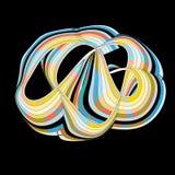 抽象五颜六色的元素 库存照片