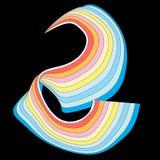 抽象五颜六色的元素 免版税库存照片