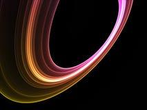 抽象五颜六色的冷静环形 免版税图库摄影