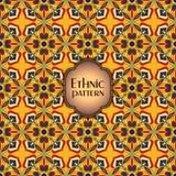 抽象五颜六色的几何无缝的样式 花卉背景纹理 免版税库存照片