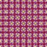 抽象五颜六色的刷子无缝的样式 库存照片