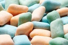 抽象五颜六色的口香糖背景 免版税库存图片