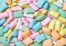 抽象五颜六色的口香糖背景 免版税库存照片