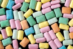 抽象五颜六色的口香糖背景 库存照片