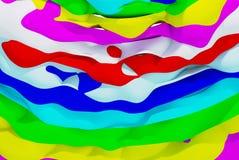 抽象五颜六色的墙纸 免版税库存图片