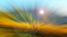 抽象五颜六色的多彩多姿的圈子fbackground 图库摄影